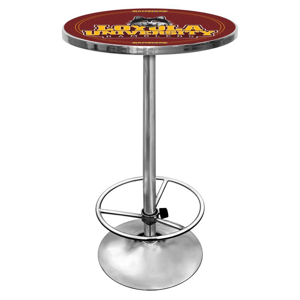 Trademark Loyola University Chicago 42 in. H Pub Table-DISCONTINUED