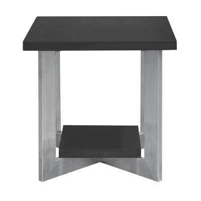 Chaplin Grey Top End Table