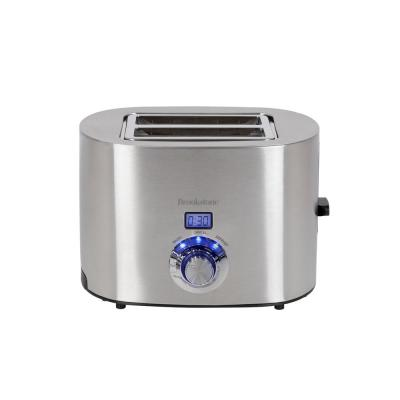 1350 W 2-Slice Stainless Steel Wide Slot Toaster