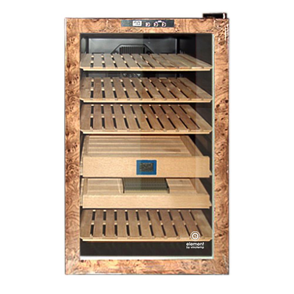 Element Wood Finish Cigar Humidor