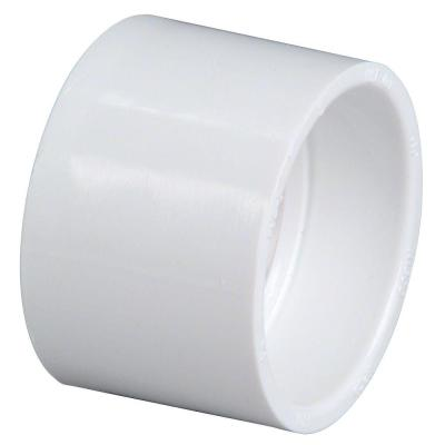 1-1/2 in. PVC DWV Hub x Hub Coupling Fitting