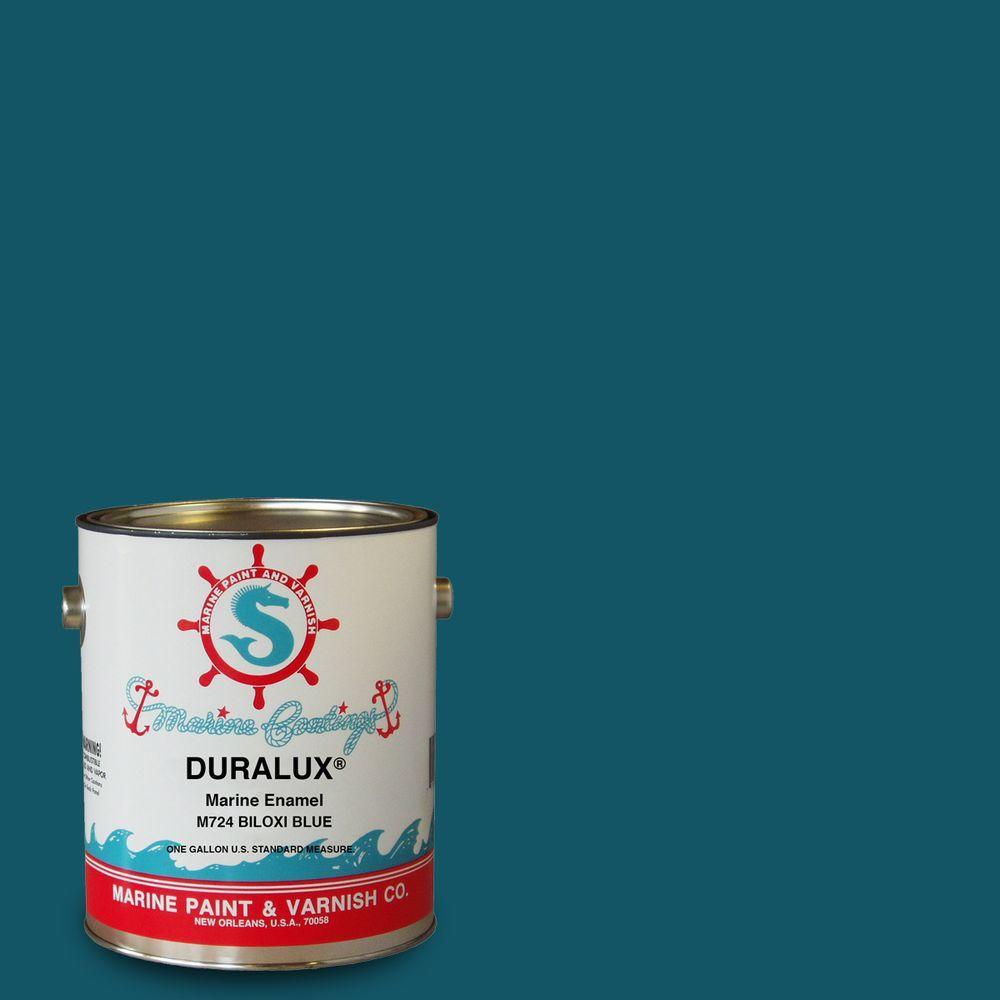 Duralux Marine Paint 1 Gal Biloxi Blue Enamel