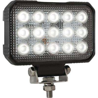 5.9 in. x 4.8 in. Rectangular Flood Light