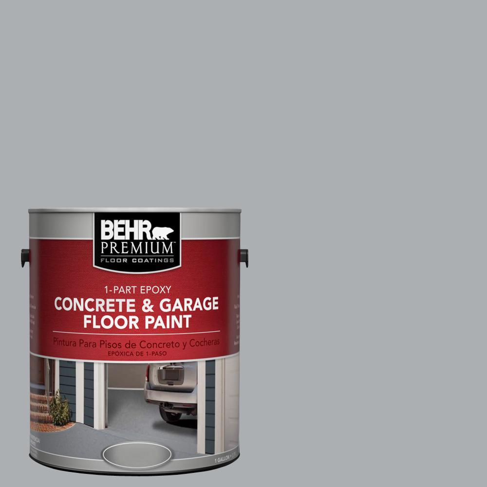 1 gal. #N500-3 Tin Foil 1-Part Epoxy Concrete and Garage Floor Paint