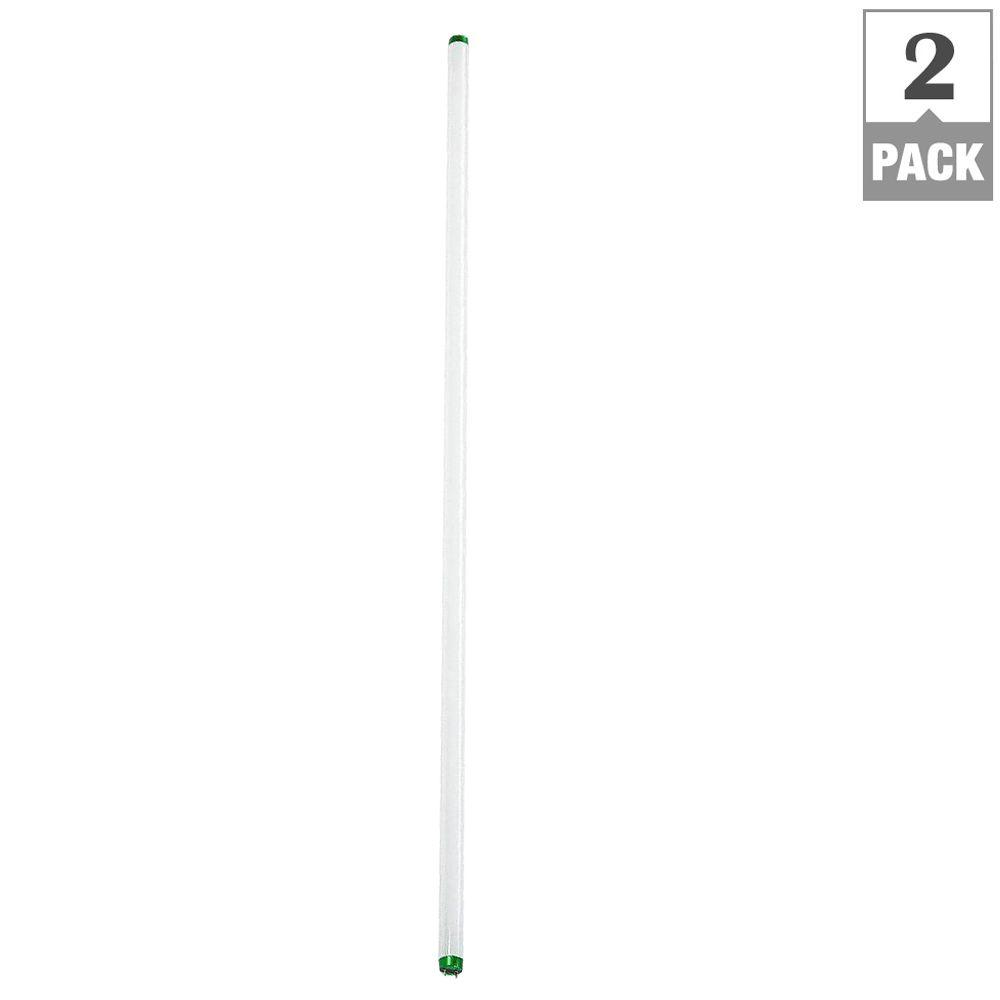 Philips 32-Watt 4 ft. ALTO Linear T8 Fluorescent Light Bulb, Natural Light (2-Pack)