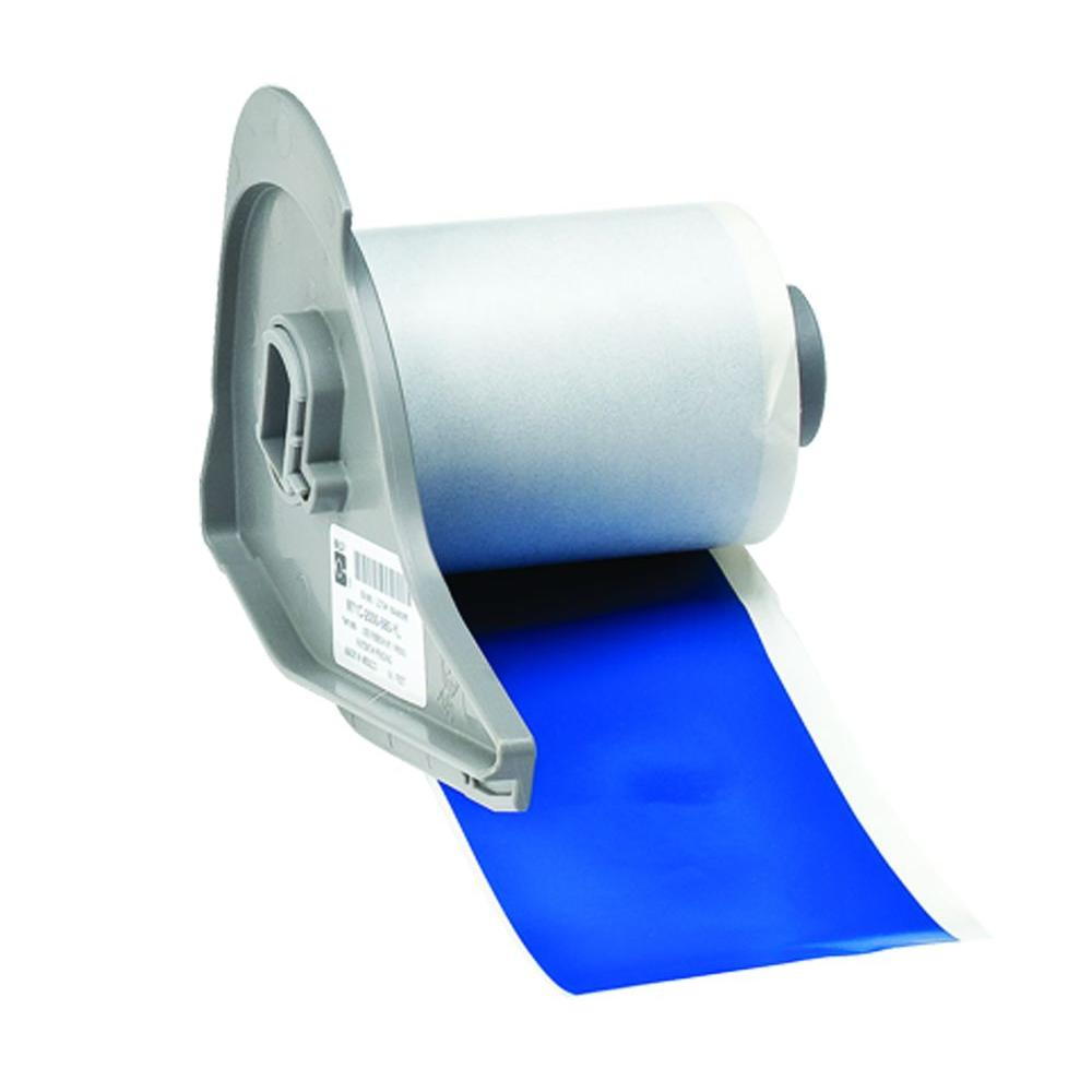 BMP71 B-595 2 in. x 50 ft. Indoor/Outdoor Vinyl Blue Film