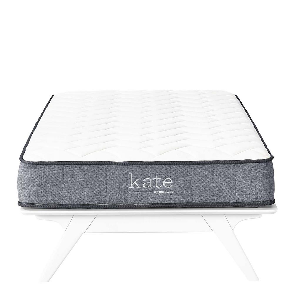 Modway Kate 8 In Twin Mattress Mod 5776 Whi The Home Depot