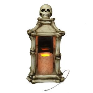 Home Accents Holiday 13.5 in. LED Skeleton Luminary