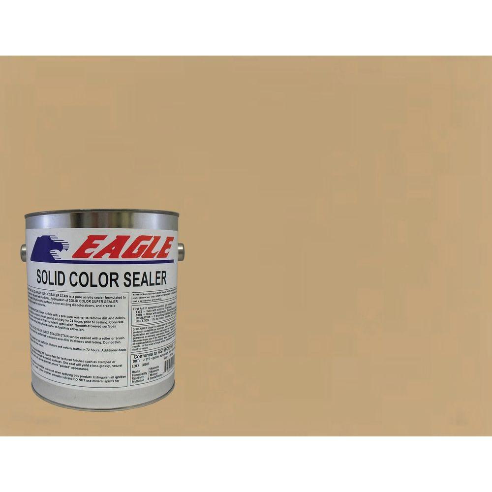 1 gal. Neutral Tan Solid Color Solvent Based Concrete Sealer