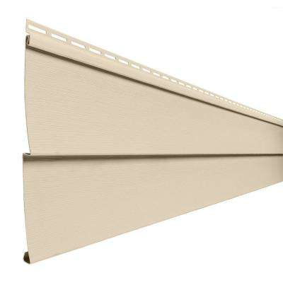 Transformations Double 4.5 in. x 24 in. Dutch LapVinyl Siding Sample in Autum Tan