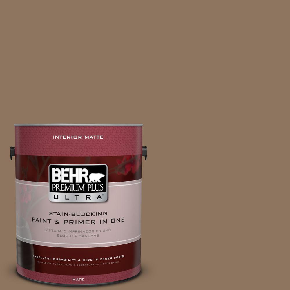 1 gal. #700D-6 Belgian Sweet Flat/Matte Interior Paint