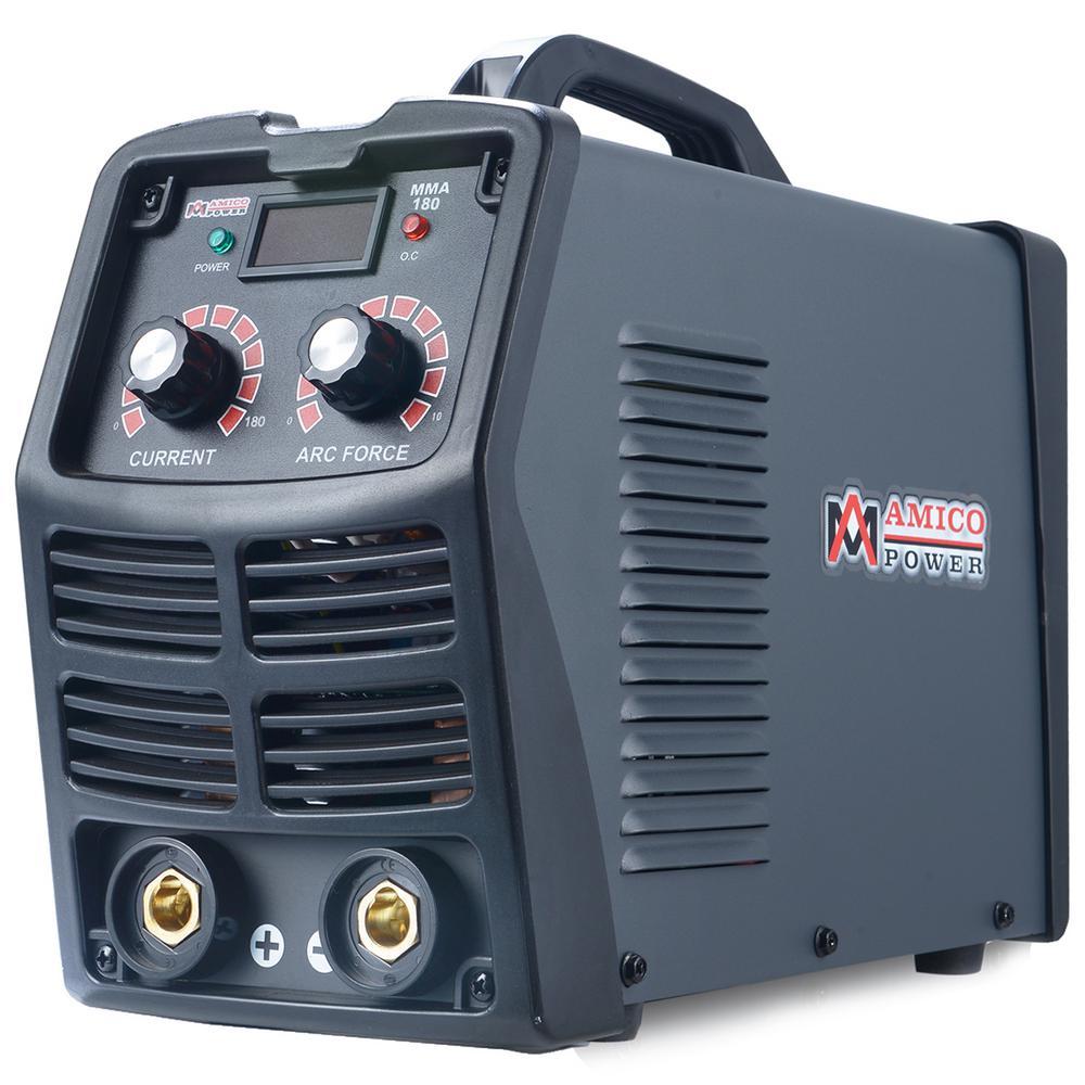 180 Amp Stick Arc DC Inverter Welder, 110/230V Dual Voltage Welding