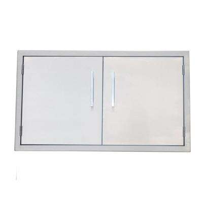 Signature Series 36 in. 304 Stainless Steel Double Access Door