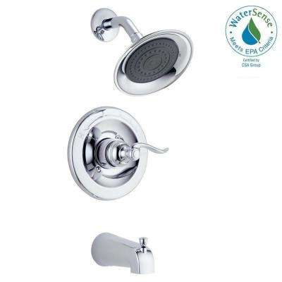 Windemere Single-Handle 1-Spray Tub and Shower Faucet in Chrome