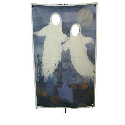 72.75 in. Ghost Photo Banner