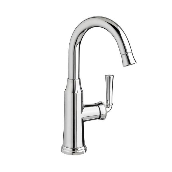 Portsmouth Single-Handle Pull-Down Bar Faucet 2.2 gpm in Polished Chrome