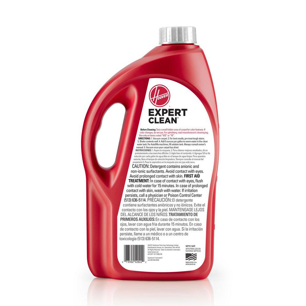 Hoover 64 Oz Expert Clean Carpet Cleaning Detergent