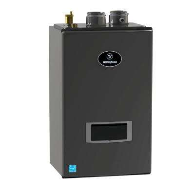 Condensing 95.1% Liquid Propane Space Heating Wall Mount Boiler w/Optional Domestic Hot Water with 199,000 BTU Input