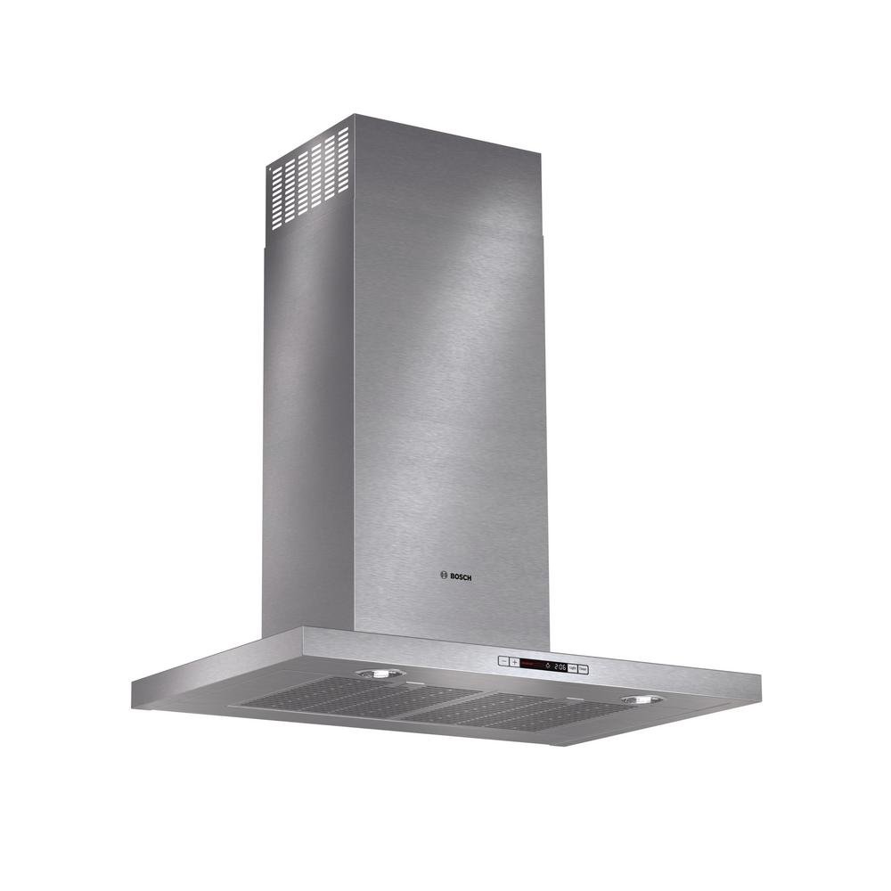 500 Series 30 in. Box Style Canopy Range Hood with Lights