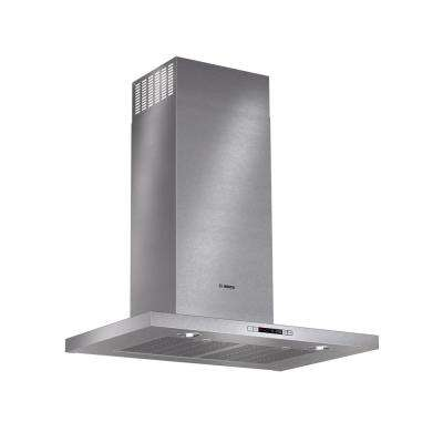 500 Series 30 in. Box Style Canopy Range Hood with Lights in Stainless Steel