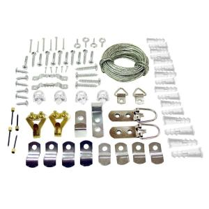 77-Piece Mirror Hanging Kit