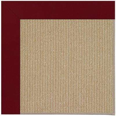 Zoe Sisal Wine 2 ft. x 3 ft. Area Rug