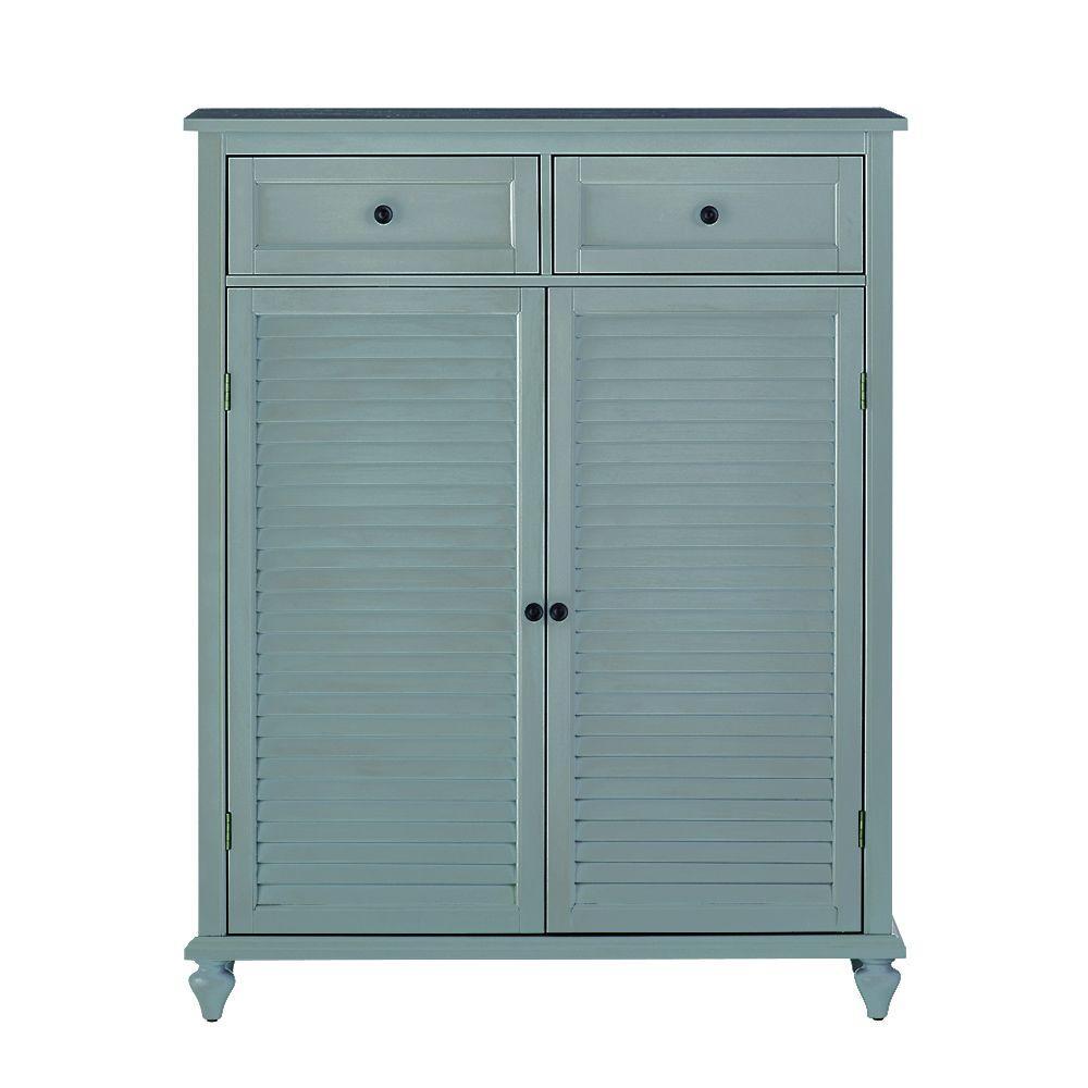 Shoe cabinet - Home Decorators Collection - Shoe Storage - Closet ...