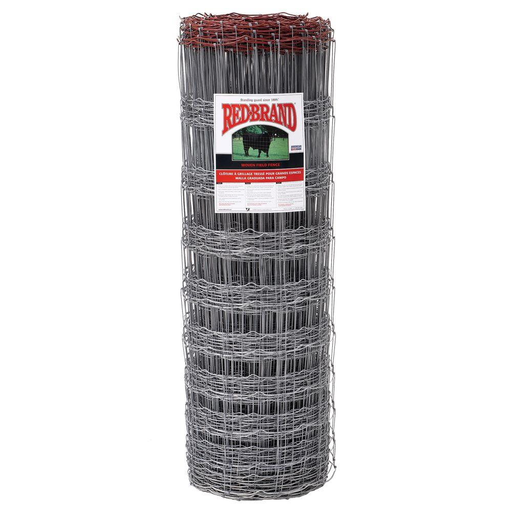 Red Brand 4 ft. x 100 ft. Field Fence-70426 - The Home Depot