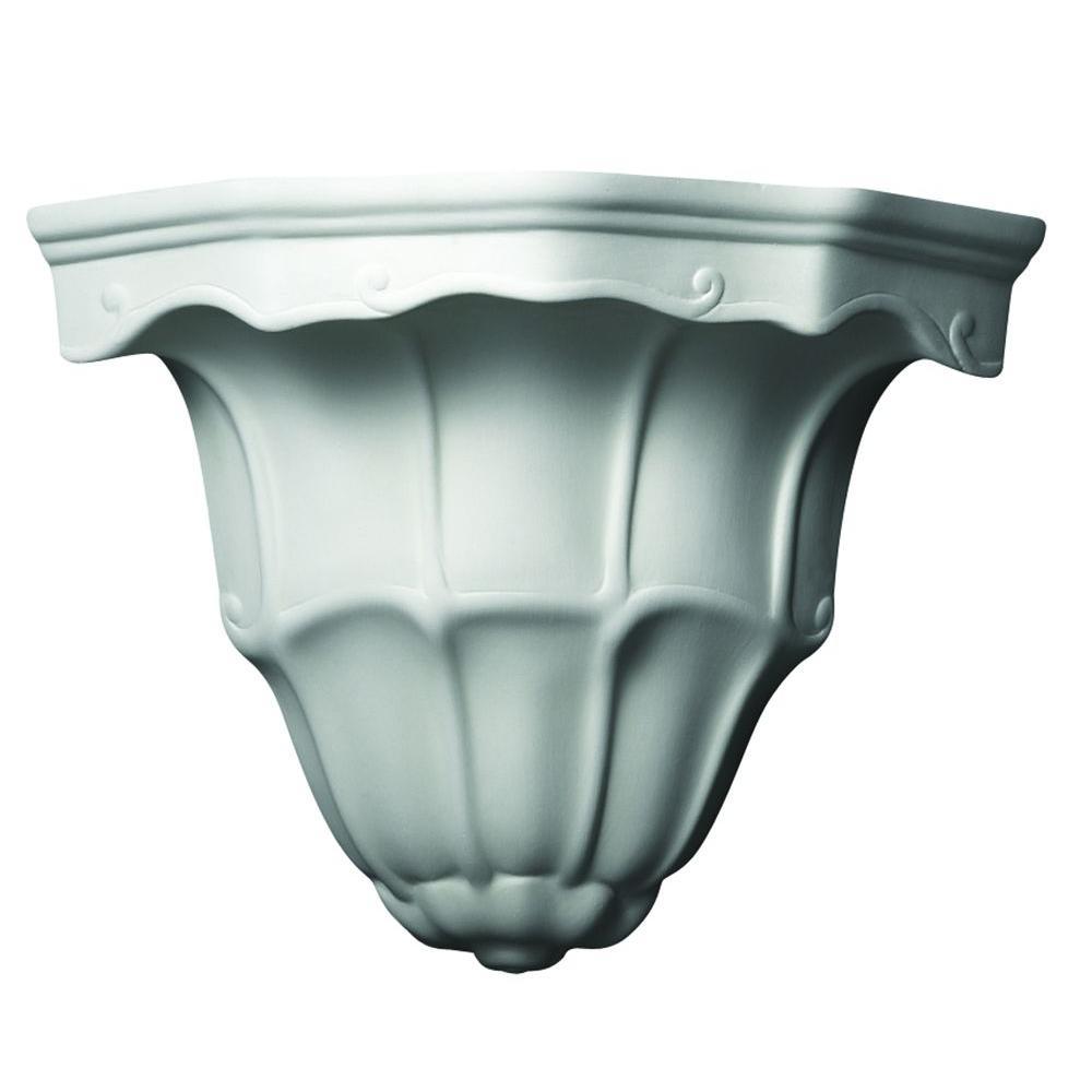 Filament Design Leonidas 1-Light Paintable Ceramic Bisque Sconce
