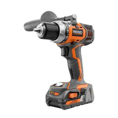 18-Volt Lithium-Ion 1/2 in. Cordless Compact Drill Kit