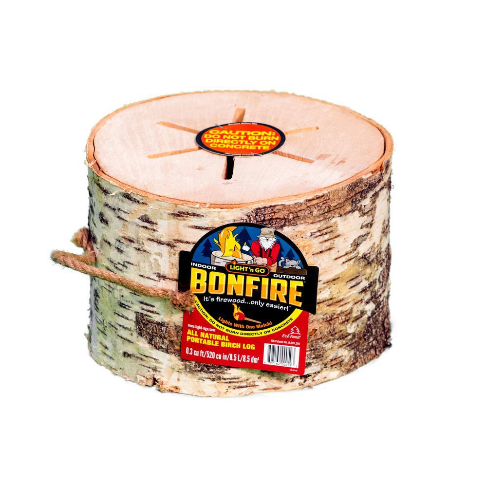 Light 'n Go Bonfire Jumbo Log