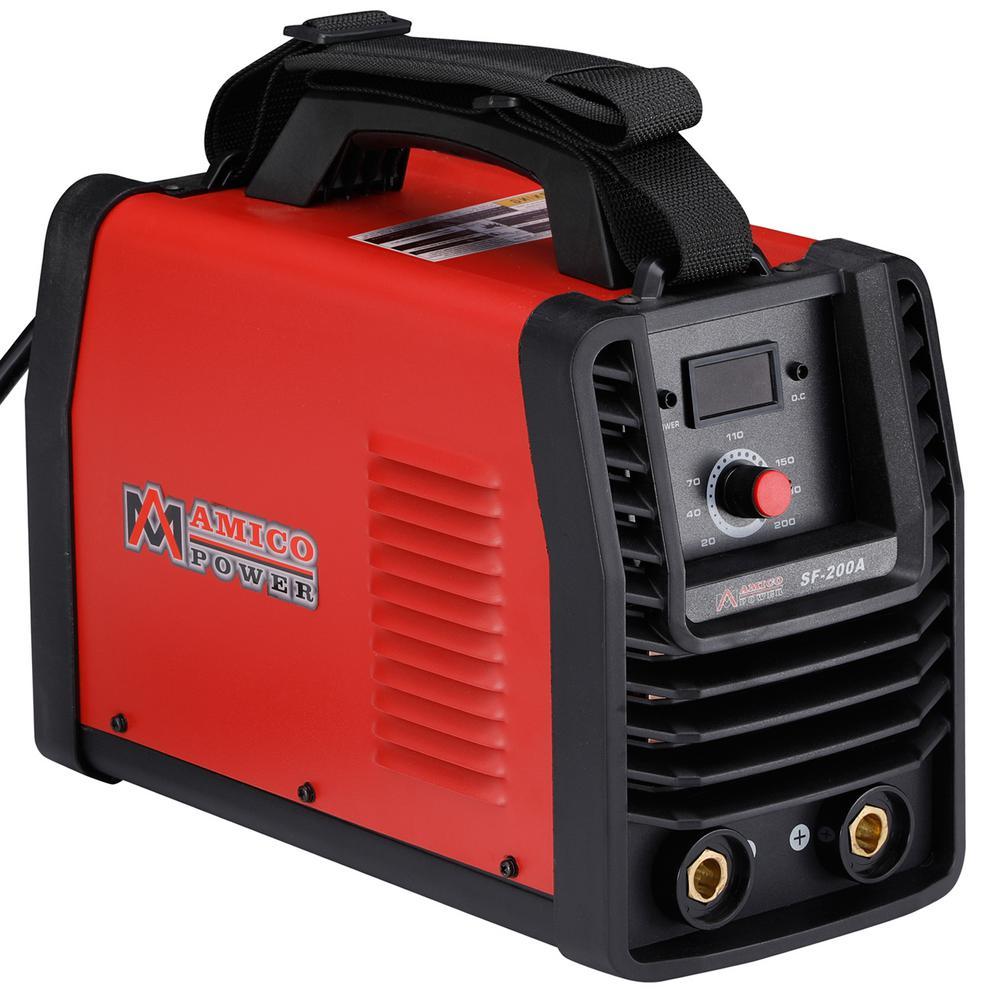 200 Amp 115-Volt and 230-Volt Dual Voltage Stick Arc MMA DC Welder IGBT Digital Inverter Welding Machine