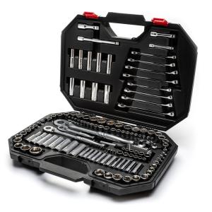 Husky 1/4 in. 3/8 in. and 1/2 in. Drive Mechanics Tool 149Pcs Deals