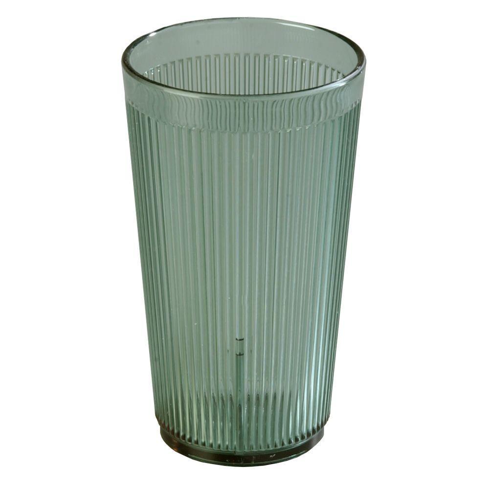 Carlisle 20 oz. SAN Plastic Tumbler in Jade (Case of 48) by Plastic Tumblers