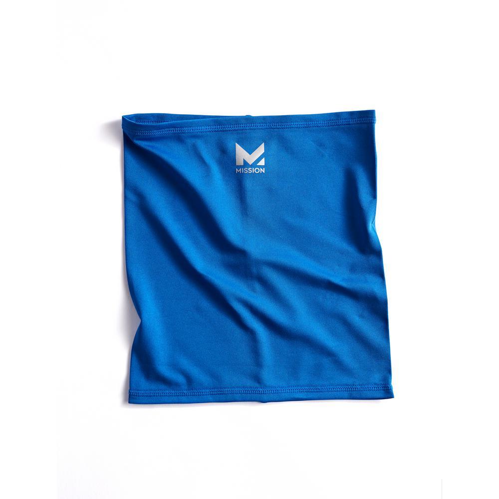 Half-Face 6 in. x 8 in. Blue Polyester/Spandex Neck Gaiter