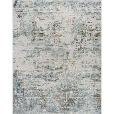 Venice Gray 7 ft. 10 in. x 10 ft. Area Rug