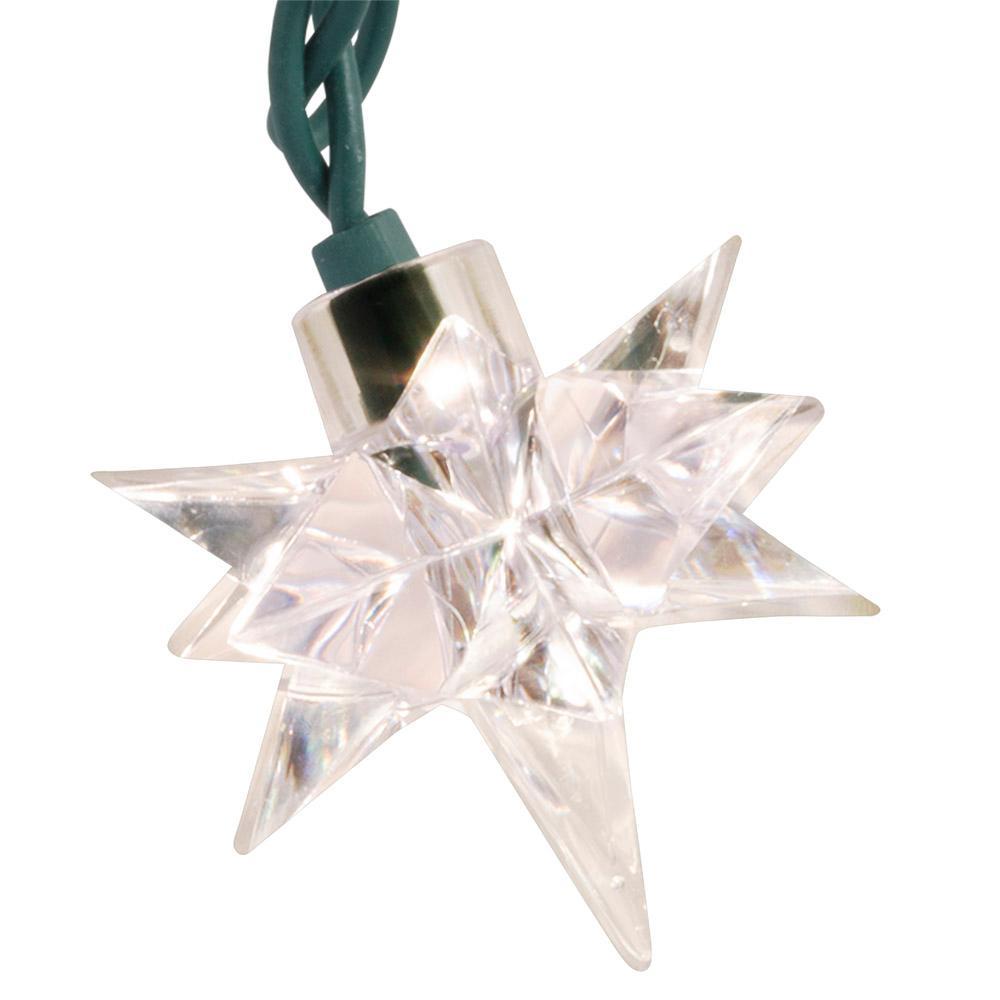 10-Light Bethlehem Star White Light String