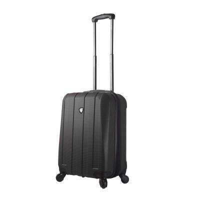 Tosetti 20 in. Black Hard Side Carry-On Spinner Suitcase