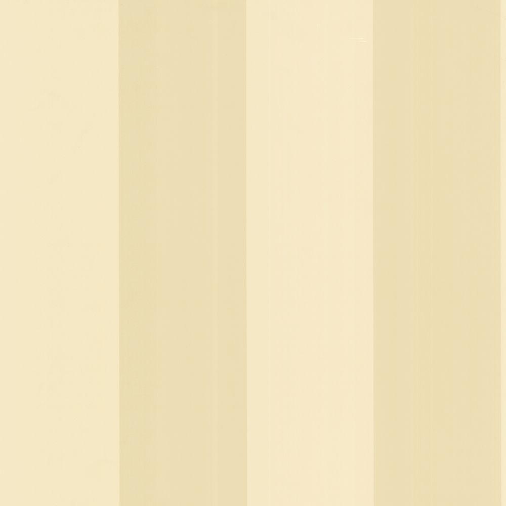 The Wallpaper Company 8 in. x 10 in. Beige Stripe Wallpaper Sample