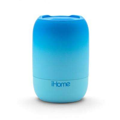 PLAYFADE Rechargeable Water-Resistant Portable Bluetooth Speaker, Blue