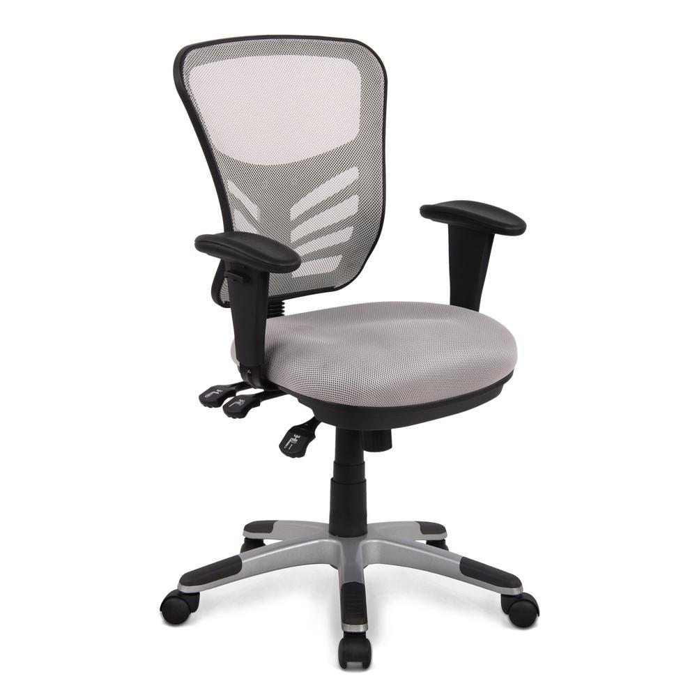 Brighton Gray Office Chair