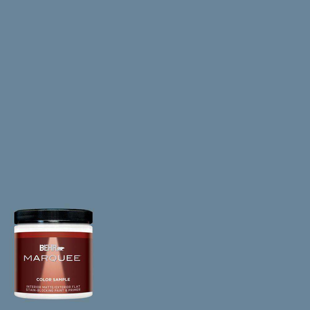 Behr Marquee 8 Oz Mq5 60 South Pacific Matte Interior