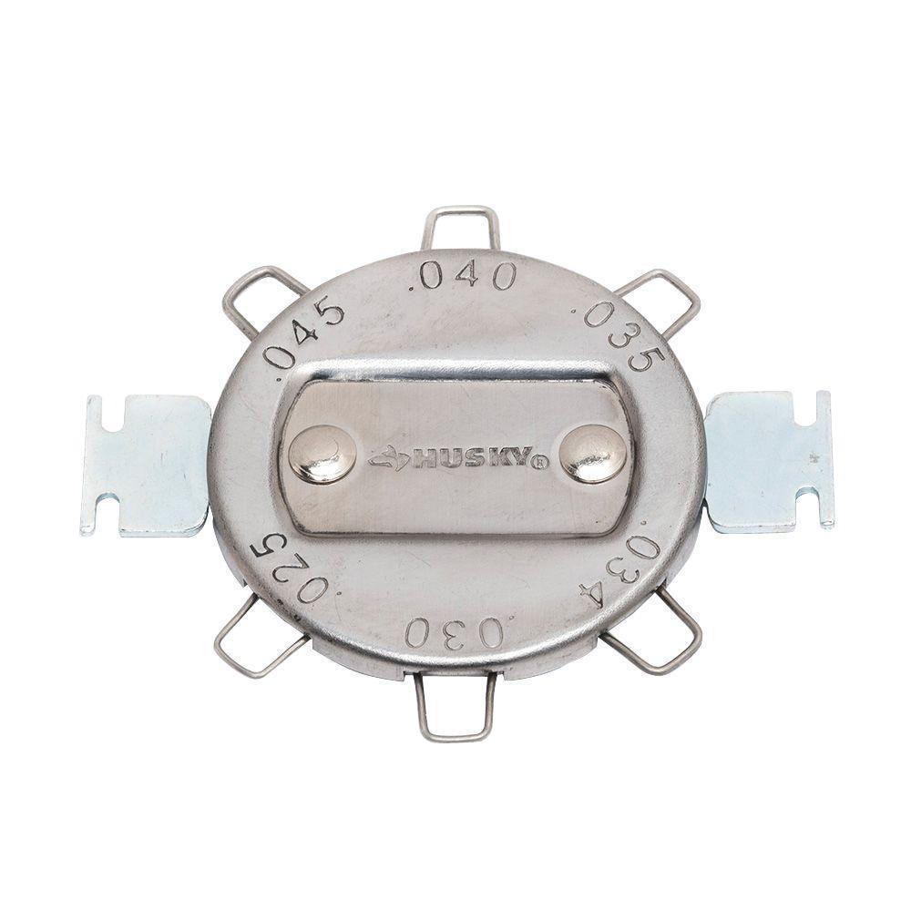 Husky 6 Cap Spark Plug Gap Gauge