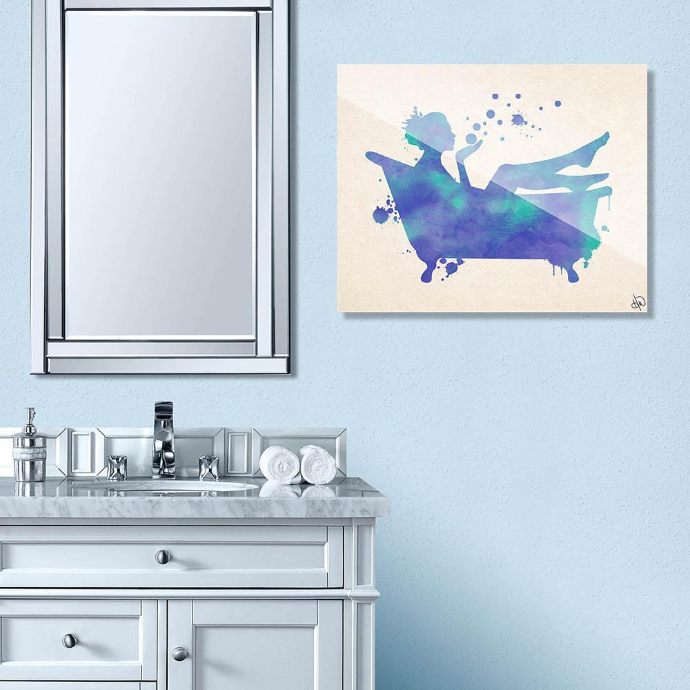 Watercolor Bath