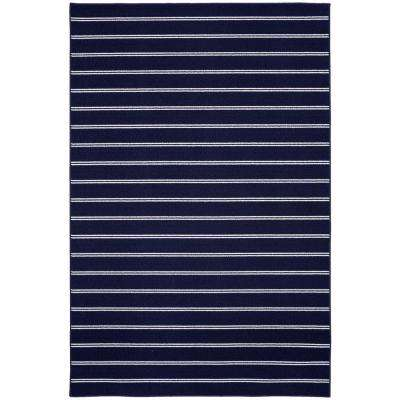 Avery Navy 5 ft. x 7 ft. Area Rug