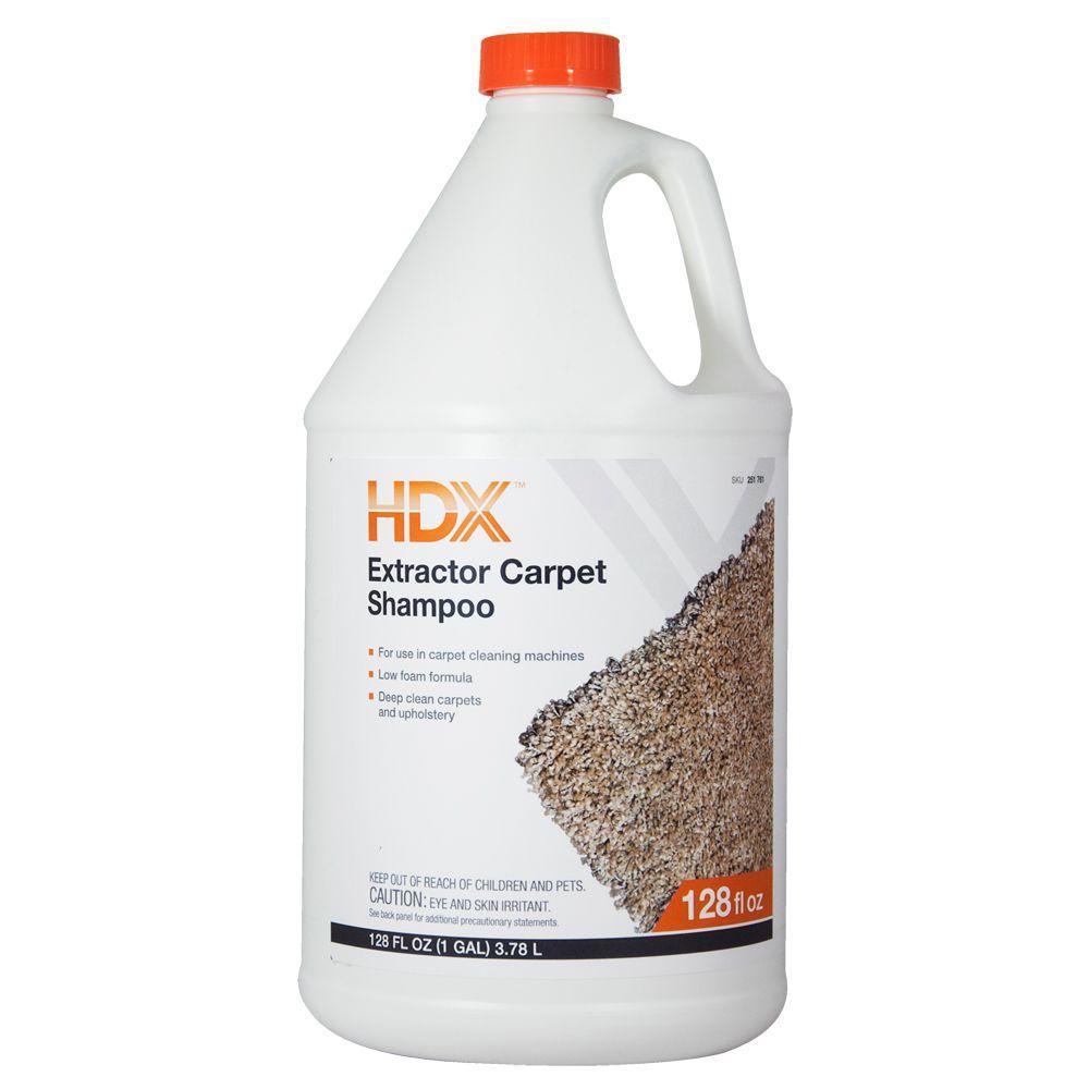 1 Gallon Extractor Carpet Shampoo (Case of 4)