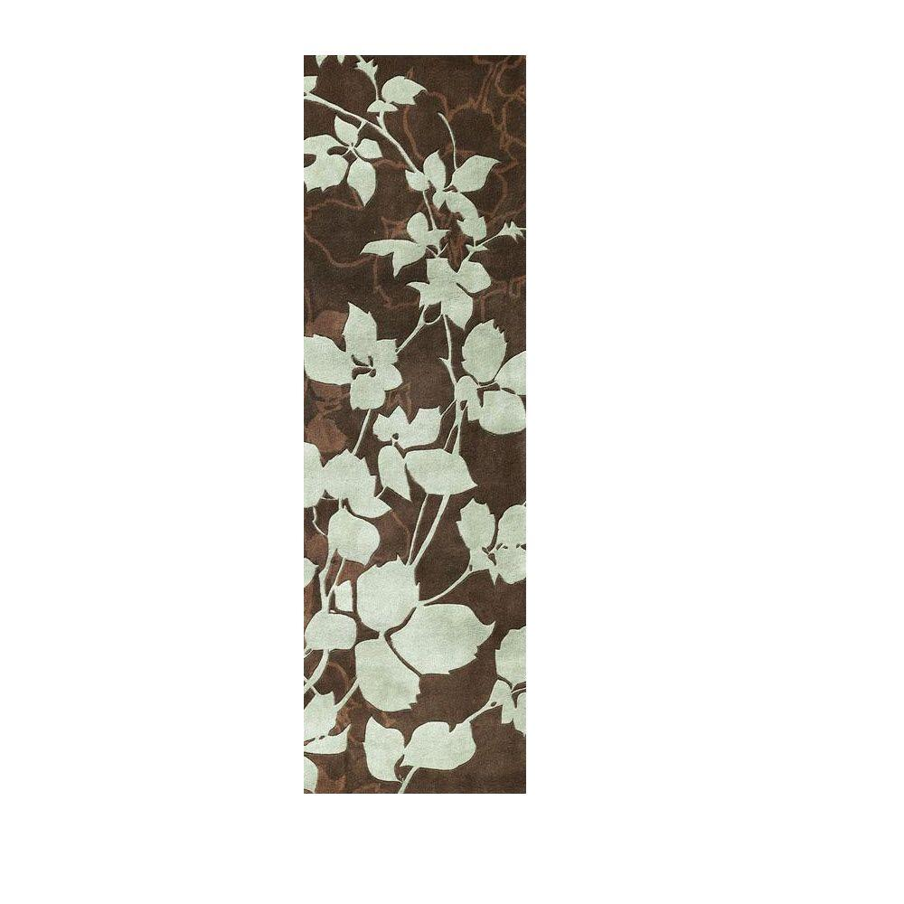 Home decorators collection arcadian brown 2 ft 3 in x 10 for Home decorators echelon rug