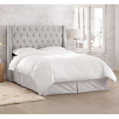 frame with bed a headboards twin queen platform wicker white headboard upholstered leather