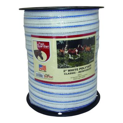 2 in. White Classic Reinforced Polytape