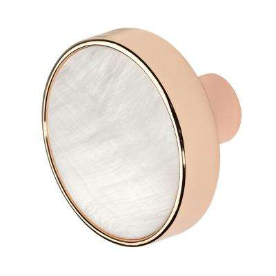 Pearl 1-3/8 in. Rose Gold Cabinet Knob